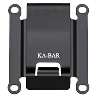KA-BAR TDI Belt Clip | Black Stainless Construction, KA1480CLIP
