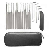 Lock Pick Set & Pouch (15 Piece)