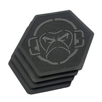 Mil Spec Monkey Logo PVC Drink Coasters (x4 Pack)
