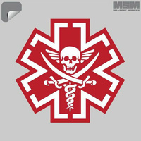 MSM TacMed Pirate Decal - SWAT