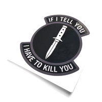 MSM If I Tell Decal - SWAT