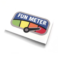 "Mil-Spec Monkey Fun Meter Decal Sticker | Full Colour, 2.25"" Wide, MSMD066FC"