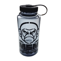 MSM Monkey Logo Nalgene Wide Mouth Water Bottle | 1000ml, Grey