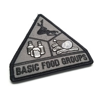 Monkey MSM Basic Food Group Woven Morale Patch - SWAT