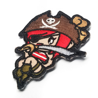 MSM Pirate Girl Morale Patch - High Contrast