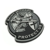 MSM Saint Michael Modern PVC Morale Patch - Urban