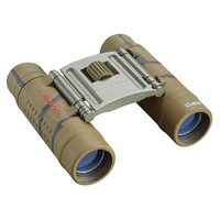 Tasco Essentials Binoculars Camo 10x25 | 300ft @ 1000yds, Neck Strap, Carry Case