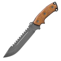 "TOPS Knives Steel Eagle Delta Class Fixed Blade Knife | 13"" Overall, 1095HC Steel, TPSE107CDC"