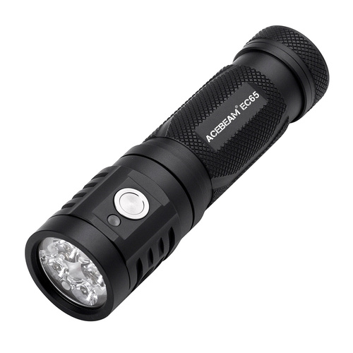 Acebeam EC65 LED Flashlight | 4000 Max Lumens, 258m Beam Distance, ABEC65