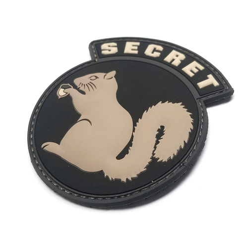 MSM SECRET SQUIRREL PVC MORALE PATCH- SWAT