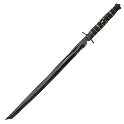 "United Usmc Blackout Combat Tanto Sword | 19"" Blade, AUS-6 Stainless Steel, UC3157"